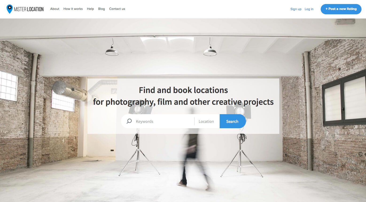 MisterLocation- Photography and locations marketplace